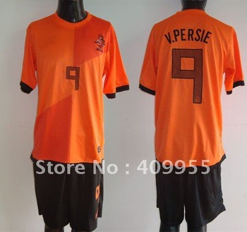 free shipping,new,Holland #9 C.PERSIE short sleeve home jersey(orange),sizeM-2XL