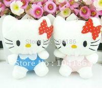 10PCS Plush Stuffed TOY Kawaii Hello Kitty DOLL Phone Charm Strap Pendant TOY DOLL ; Wedding Bouquet DOLL TOY Gift