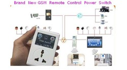 Free shipping Fashion Cellphone GSM Remote Control Power Switch 1pc/lot(China (Mainland))