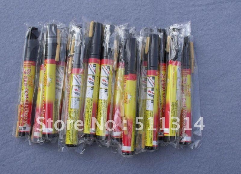 free shipping 20pcs/lot Pro auto paint pen fix it pro car scratch repair pen car repair pen auto scratch repair document(China (Mainland))
