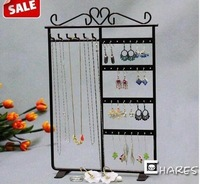 Free Shipping Jewelry Earring display,Necklace showcase Jewelry Display Rack stand holder 32 Hole 6pcs/lot NY-027