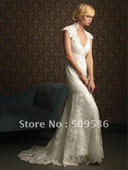 New white/ivory wedding dress custom size & Crystal Crown