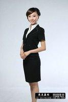 Linda Allard Ellen Tracy Elegant Pale black Wool Skirt Jacket Suit  Business Suit SKIRT SUIT NWT 6 M...$560 RETAIL!