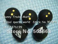 Tennis accessories,Squash ball design tennis vibration dampener