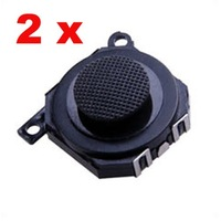 2x Repair Parts Replacement Thumb Button for PSP 1000 Joystick 60036