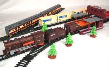 Long orbit electric train Electric Train Set train toy 9.4m railway