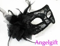 Free Ship!Venice mask,Lace Sexy Mask.Masquerade Party Mask.Half Face Mask.High-Grade Italian Mask.Two Colors Available Cmk094