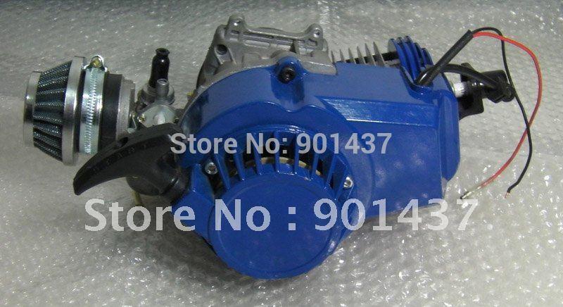 49CC 2-Stroke High Performance Engine& Engine Parts Motor For Pocket Mini Bike ATV(China (Mainland))