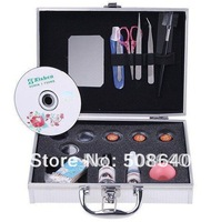 Wholesale False Eye Lash Eyelash Eyelashes Extension Kit Full Set with Case For Make-up Beauty 004