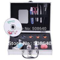 Wholesale False Eye Lash Eyelash Eyelashes Extension Kit Full Set with Case For Make-up Beauty 004