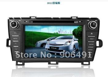 "7"" Car DVD Player GPS Navi Bluetooth Radio  for USA Spain, left hand drive  new  2012  Toyota Prius"