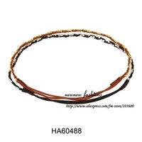 Free shipping! Wholesale-24pcs/lot plaited headband with rhinestone