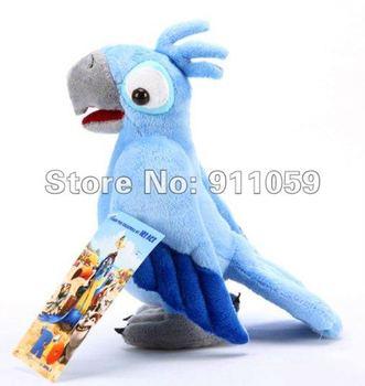 HOT PROMOTION!Plush Cotton Bird Toys Doll Blue 10inch Hello Kitty Boy Gifs Freeshipping