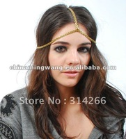 Silver Daisy Fields Chain Headpiece