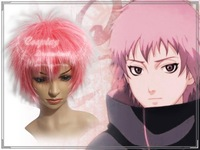 Wholesale Free Shipping Hot Selling Cheapest Halloween Naruto Cosplay Wig Sasori Wig without headband