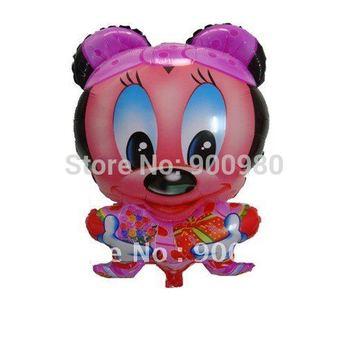 Minnie Design Foil  Balloon Helium Inflatable Balloon  50pcs/bag!!