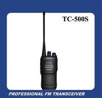 DHL Free Shipping UHF 450-470MHZ HYT TC-500S Portable UHF FM Transceiver Radio