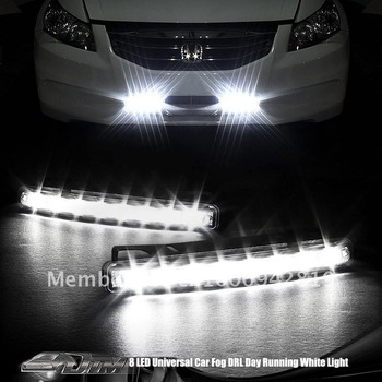 Freeshipping100%waterproof universal car led lighting NC-5W LED DRL day time running light FOGLAMP