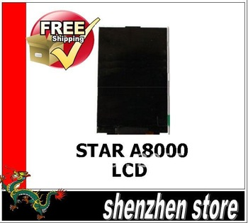 a8000 New Display LCD Screen Replacement for STAR A8000 dual sim cell phone
