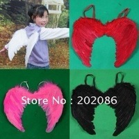 Wholesale Feather Angel wing Fairy wing Party supply for chinlren stage performance item Fast delivery free shipping