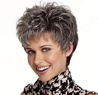 New Arrivals Casual Hair short straight wig kanekalon synthetic wigs