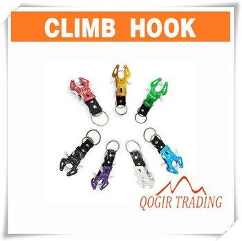 Durable Carabiner Clip Climb Hook Lock Keyring Keychain 6161