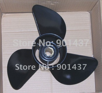 Stainless Steel Propeller For 82HP, 85HP, 90HP-115HP Outboard Motor 13 1/4X17-K (Work On Yamaha Mercury Honda Suzuki)