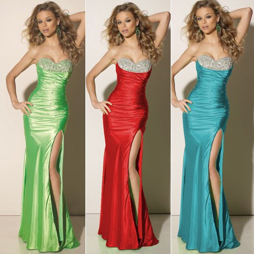 Free Shipping 1pc/lot GK Wedding Party Gown Prom Ball Cocktail Bridal Evening Dress 8 Size CL2949