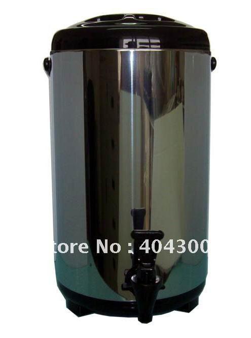 Garrafa térmica de aço inoxidável 8d balde garrafa térmica de chá da bolha equipamentos essenciais quente & cool balde refrigerador balde de cerveja balde(China (Mainland))
