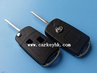 Top quality Toyota modified flip 2 buttons key shell toyota modified key cover
