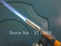 Outdoor camping gas torch Hiking camp fire starter maker flame gun lighter One-Gas Butane Burner Auto Ignition Weld flame gun