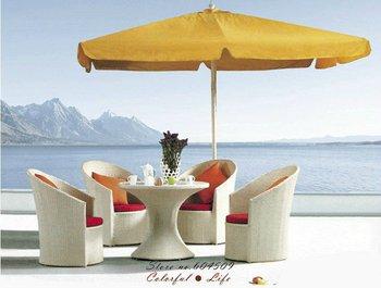 Hot Sale PE rattan outdoor sofa set,YSF-N013,OEM