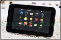 new!!7 inch,A10,android 4.0,512M/4G,1.0G-1.5GHZ,capacitance touch,built-in wifi,external3g,tablet pc android