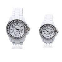 DHL Free shipping 100pcs/lot, 2012 New Style Sinobi Watch waterproof Women Wrist Watch Lover Japan movement 3-colors Wholesale