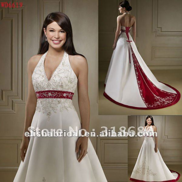... Red And White Wedding Dresses ...