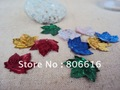 20MM 2100Pcs/lot Leaf Mixed Colors Pvc Spangle Sequins Paillette Spinnerbaits Costume / Jewelry Accessory
