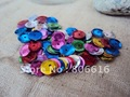 8MM 14500Pcs/lot Round Mixed Colors Pvc Spangle Sequins Paillette Spinnerbaits Costume / Jewelry Accessory