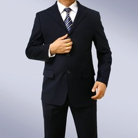 "black Morning Suit with striped trousers 50"" chest waist 44"" Stunning suit 100% Wool FREE FAST SHIP HEM-UP & TIE"