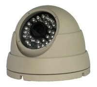4pcs/lot, Megapixel HD Digital Low-illumination 1 Mega Pixel Network IP Dome Camera with IR Led, Onvif 2.0, freeshipping