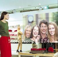 Holographic windows film 4.5 square meter(3*1.5m) colour type transparnet, grey,dark grey, white optional, Free Shipping!!!