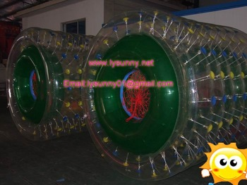inflatable water roller,water ball TPU  0.7MM 2.4x2.0M manufacturer price without shipping