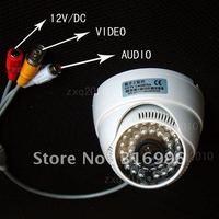 420TVL 1/4''CMOS Audio Color Indoor Video CCTV Surveillance Security Camera System DVR W95
