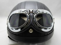 5pcs/lot motorcycle goggle Motorcycle Scooter Steampunk Cruiser Helmet Goggle Eyewear T01A free shipping
