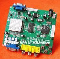 New arrival CGA TO VGA converter/CGA/ECGA/YUV to VGA PCB/one VGA output-game accessory for arcade game machine/LCD game machine