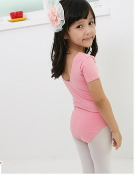 Pink Girls Party Leotards Ballet Costume Tutu Skirt Dance Skate Dress SZ 5-8Y Free shipping!