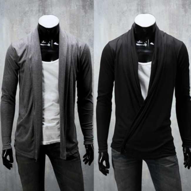 Korean Long Sleeve Shirt Men Korea Men's Long Sleeve