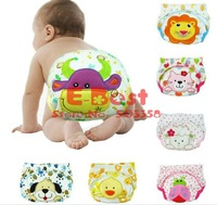 Нижнее белье, Подгузники для девочек 12pcs infants cotton underwear cute cartoon design baby boys/girls short pants