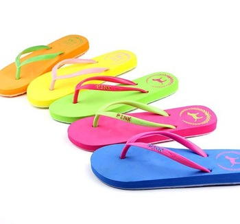 Free shipping! Hot Selling  Women's Flip Flops,PINK Flip-Flops, flat-bottomed Sandals,summer beach slippers