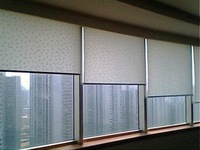 Window width1.5 meter DC Motor Remote Control Electric Motorized Roller Blinds systems & home control customized available