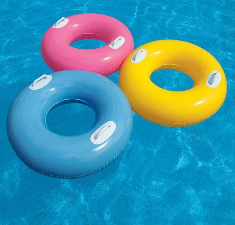 Inflatable Body Float Swim Swimming Ring Laps Life Buoy Swim Pool For